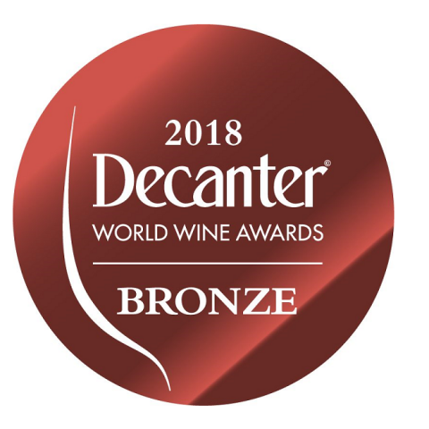 Decanter 2018 Bronze Medal